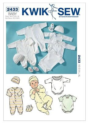 kwiks... Kwik Sew Toddlers sewing pattern 3509 Dressing Gowns Free UK p/&p