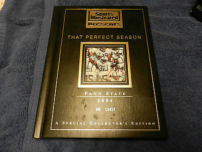 Penn State 1994 Sports Illustrated That Perfect Season serial numbered book