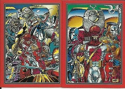 Youngblood Comic Images Complete 90 Card Set Non Sport