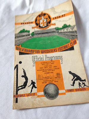 Wolves V  Roumania Cca     Friendly Original Programme 1956  Floodlight Vgc