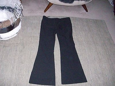 Topshop black trousers size 12