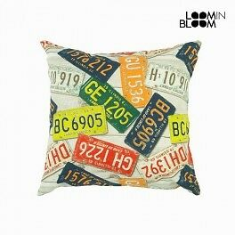Coussin plaque d immatriculati by Loomin Bloom