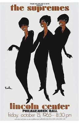 the Supremes POSTER **MUST SEE** Diana Ross VINTAGE Motown Soul R&B