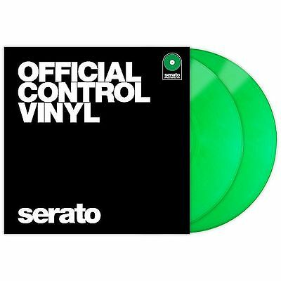 Serato Performance Series 12 Inch Control Vinyl (green, pair)