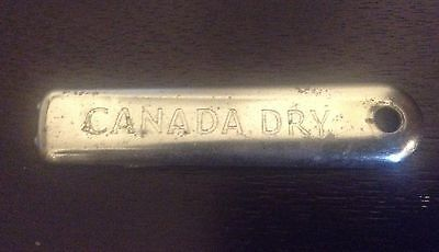 CANADA DRY beverage  ~ collectable  Metal Bottle Opener