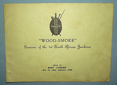 1936 Rhodesia Boy Scouts Souvenir of the 1st South African Jamboree Booklet