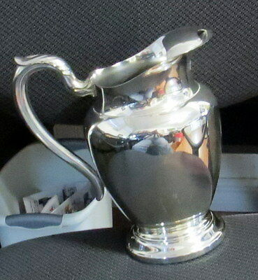 Vintage Wm. Rogers Silver Plate Pitcher
