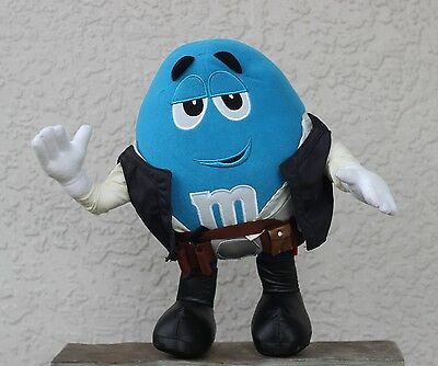 """Star Wars~Han Solo~M&M~Plush~Stuffed~LARGE~12""""~Blue~Collectible"""