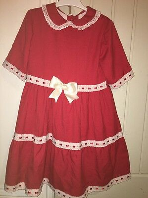 spanish romany girls Dress Miss Clementine Age 8 Matching Pretty Original