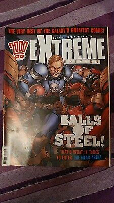 2000AD Extreme Edition issue 26 22nd January 2008