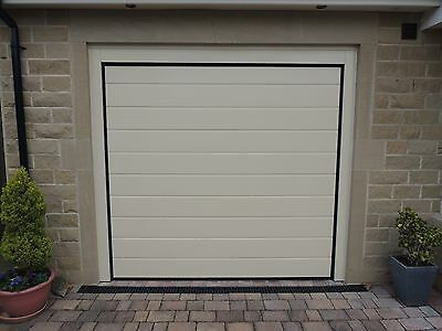 40mm Insulated Sectional Garage Door in White