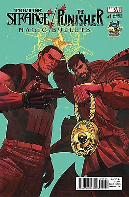 Doctor Strange Punisher Magic Bullets #1 DAlfonso Run The Jewels Variant PreSale