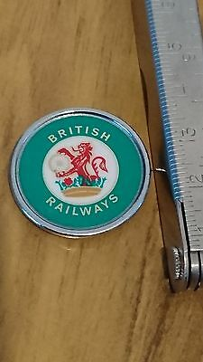Old British Railways green insert badge