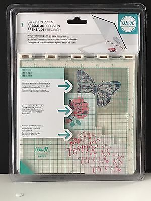 Precision Press Stamping Tool From We R Memory Keepers  NEW ITEM