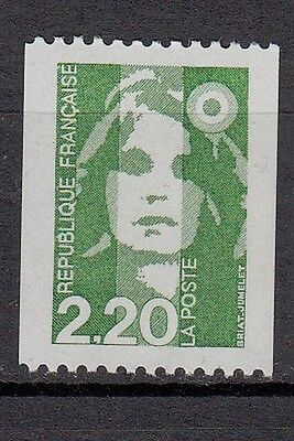 18b** Timbre FRANCE Neuf**MNH**TBE MARIANNE DU BICENTENAIRE 1991 roulette n°2718