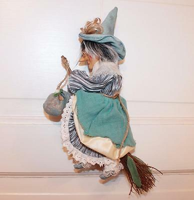 KITCHEN WITCH - GOOD LUCK YEAR ROUND By KASMA with PORCELAIN FACE - EUC!