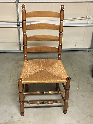 Antique 18th Century Ladder Back Chair