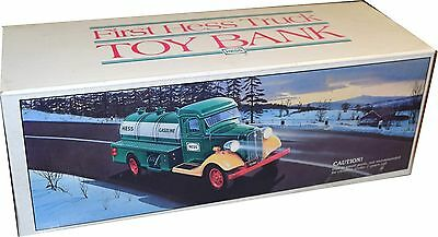 First Hess Truck Toy Bank 1985 BRAND NEW IN BOX