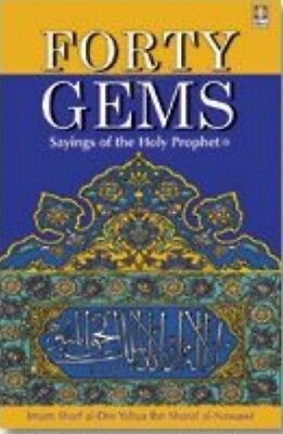 Forty Gems (Hadith) - Sayings of The Holy Prophet (SaW)- English islamic book