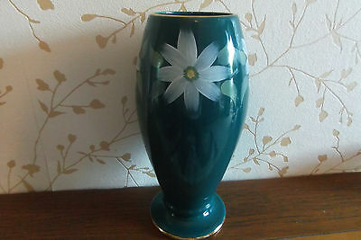 OLDCOURT VINTAGE HAND PAINTED 10 inch VASE