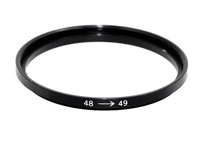 Anello adattatore filtro, step up 48 - 49 mm - Ring adapter  filter
