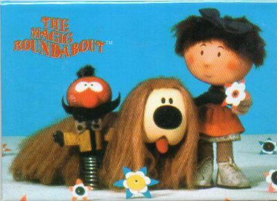 The Magic Roundabout - Fridge Magnet - New and Sealed - Ideal Present