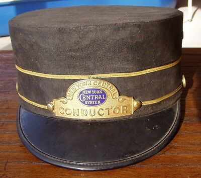 New York Central Railway Conductors Hat