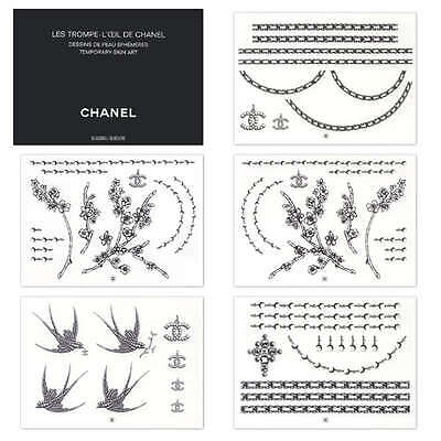 Chanel Temporary Tattoo AMAZING PRICE (55 designs)