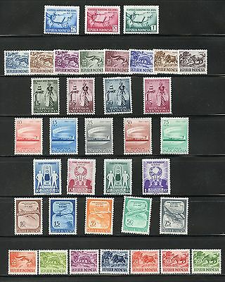 Indonesia #421-456 (IN685) Complete Sets, M, H, FVF, CV$38.05