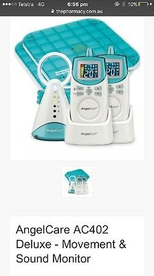Angelcare deluxe + Movement & Sound Baby Monitor