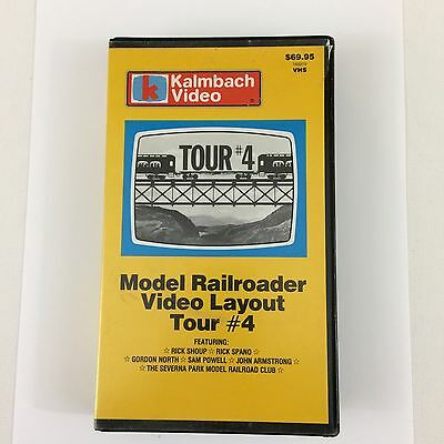 Model Railroader Video Layout Tour #4 Kalmbach VHS Tape