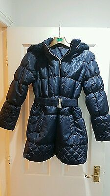 Girls Debenhams Winter Coat Age 11-12