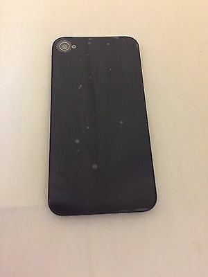 50 Replacement Rear Glass Back Cover Battery Door For iPhone 4 4S Black From US