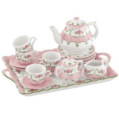 Andrea By Sadek 16 Piece Children's Tea Set