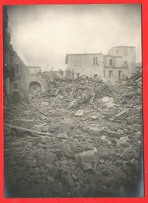 Messina-Terremoto Del 1908-Foto Originale D'epoca-06