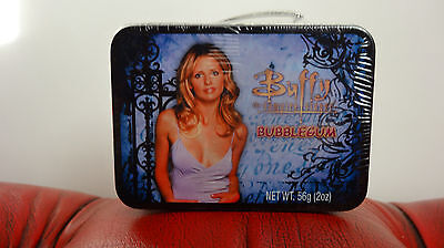 Rare Buffy the Vampire Slayer Still Sealed Small Vintage Tin Case of Sweets