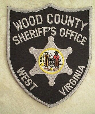"""Wood County Sheriff's Office Patch - West Virginia - 3 1/2"""" x 4 1/2"""""""
