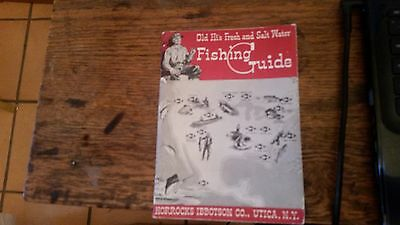 Old Hi's Fresh and Salt Water Fishing Guide Paperback 1954
