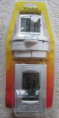 NEW WIRELESS POOL FLOATING THERMOMETER - VIOPRODUCTS - indoor/outdoor - DIGITAL