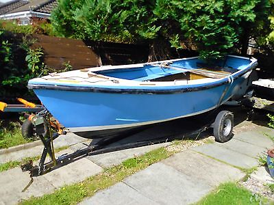 Dinghy   Fishing Boat 15 Ft  Dingy Falmouth Bass Boat