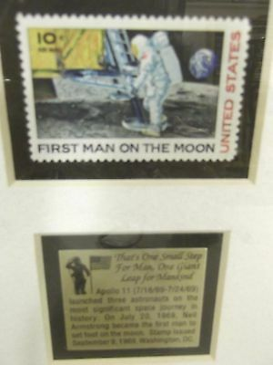 First Man On The Moon Commemorative Stamp Set