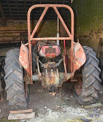 Ferguson Grey and Gold Tractor for Restoration