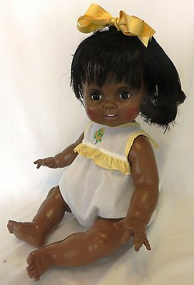"""Vintage 1982 IDEAL 24"""" BABY CRISSY Life-Size AA Doll w/Original Outfit Excellent"""