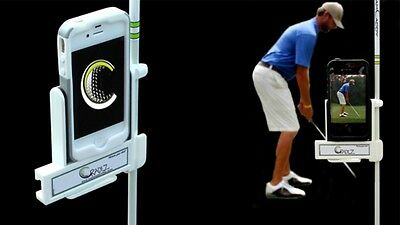 Cam Caddy: Analyze Your Golf Swing (Black)