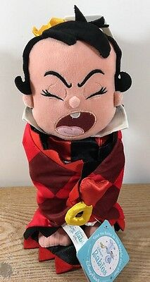 """Disney Parks Baby Queen of Hearts in a Blanket Plush 12""""  Plush NEW"""