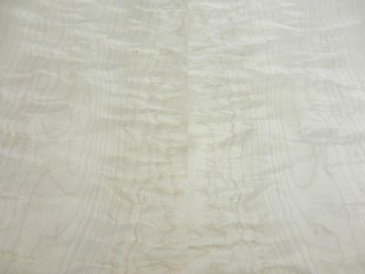 "Curly Figured Maple wood veneer 48"" x 96"" with paper backer 1/40th"" thick ""AA"""
