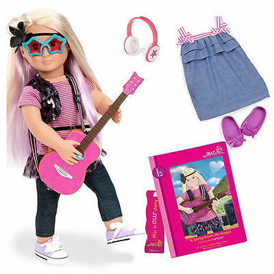 """New Our Generation 18"""" Deluxe Doll Layla Rocker fits American Girl Fast Shipping"""