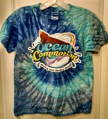 Ocean Commotion - Diving into Noah's Flood - T-Shirt - Size Youth Small
