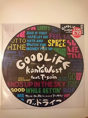 """Kanye West feat: T Pain - Good Life 12"""" Single Picture Disc"""
