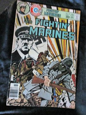 "OLD! 1976 $.30 Comic Bk: ""Fightin' Marines"" #132 WITH SWASTICA"